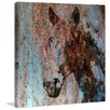 Marmont Hill 'Rustic Horse II' by Irena Orlov Painting Print on Wrapped Canvas