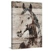 Marmont Hill 'Picolino Horse' by Irena Orlov Painting Print on Wrapped Canvas