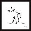 Marmont Hill 'Meditation Under Tree' by Maya Gur Framed Painting Print