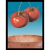 G&C Interiors Tomatoes Framed Graphic Art in Blue
