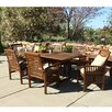 Darby Home Co Widmer 7-Piece Dining Set with Cushions