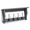 Maine Furniture Co. Heritage Shelf with 4 Coat Hooks