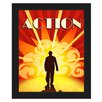 Click Wall Art 'Action Film' Framed Graphic Art