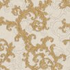 Versace Home Baroque and Roll 10.05m x 70cm 3D Embossed Wallpaper