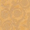 Versace Home Creamy Barocco 10.05m x 70cm 3D Embossed Wallpaper