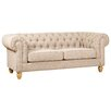Hazelwood Home Chesterfield 3 Seater Sofa