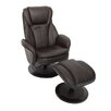 Home Loft Concept Deluxe Recliner and Footstool