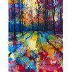Art Group 'Mile End Woods' by Doug Eaton Graphic Art on Wrapped Canvas
