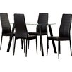 Riley Ave. Hillary Dining Set with 4 Chairs
