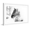 Marmont Hill 'Cold Breath' Framed Painting Print