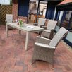 Destiny Messina 4 Seater Dining Set with Upholstery