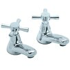 Francis Pegler Mercia Contemporary Basin Tap (Set of 2)