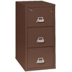 FireKing Fireproof 3-Drawer 2-Hour Rated Vertical File Cabinet