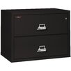 FireKing Fireproof 3-Drawer Lateral File Cabinet