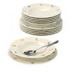 Seltmann Weiden 12-tlg. Tafelservice Marieluise Elfenbein Blütenmeer aus Porzellan für 6 Personen