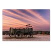 Trademark Fine Art 'Bygone Days' by Michael Blanchette Photographic Print on Wrapped Canvas