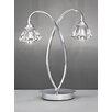 Franklite Twista 37cm Arched Table Lamp