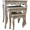 Firmans Direct La Rochelle 3 Piece Nest of Tables