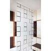 Tropik Home Quadro PEVA Stylish Waterproof Shower Curtain
