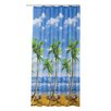Tropik Home Palms Shower Curtain