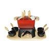 Baumalu 18 Piece Cast Iron Fondue Set