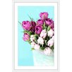 Marmont Hill 'Pink and Purple Tulips' by Sylvia Cook Framed Painting Print