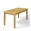 Hokku Designs Daisy Extendable Dining Table and 6