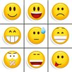 "Eurographics 9-tlg. Magnete Set ""Smile"""