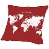 East Urban Home Our Travels Throw Pillow