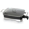 "Cookinex Kung Fu ""Master"" 10.5-qt. Electric Skillet with Glass Lid"