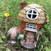 Castleton Home Mystical Cobblers Boot Fairy Garden House with LED Light Decoration