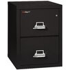 FireKing Fireproof 2-Drawer Vertical File Cabinet
