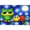 "Marmont Hill ""Owls"" by Nicola Joyner Painting Print Canvas Art"