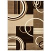 Well Woven Ruby Modern Galaxy Waves Beige Area Rug