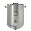 Kegco 3 Piece 20 Gallon Brew Kettle Set
