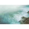 """Marmont Hill """"Smoke on the Water"""" by Morgan J Hartley Photographic Print on Wrapped Canvas"""