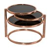 Hokku Designs Eternity Swivel Coffee Table