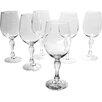 Creatable Charms 6 Piece White Wine Glass Set