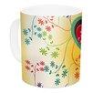 East Urban Home Romantic by Famenxt 11 oz. Heart Ceramic Coffee Mug