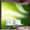 Artgeist Light Green Abstract 3.09m x 400cm Wallpaper
