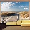 Artgeist Langeoog - Beach on the North Sea 3.09m x 400cm Wallpaper