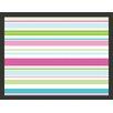 Artgeist Sweet Stripes 2.7m x 350cm Wallpaper
