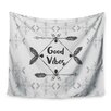 East Urban Home Boho Good Vibes by Famenxt Wall Tapestry