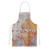 East Urban Home Wanderlust Map by Sylvia Cook World Artistic Apron