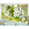 Artgeist Branch with White Cherry Blossoms 1.54m x 200cm Wallpaper