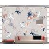 Artgeist Wild Herons 2.8m x 400cm Wallpaper