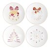 "Auratic Inc. Chantilly 6"" Dessert Plate (Set of 4)"