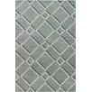 Brayden Studio Oritz Hand Tufted Wool Gray Area Rug