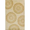 Red Barrel Studio Willow Hand Tufted Wool Gold/Tan Area Rug