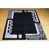 Castleton Home Finsbury Black/Grey Area Rug